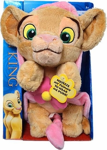 Disney Lion King Exclusive Plush Figure Purring Nala [Pink Blanket]