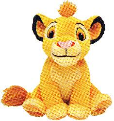 Disney Lion King Just Play Exclusive 5 Inch Mini Plush Figure Young Simba