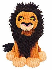 Disney Lion King Just Play Exclusive 5 Inch Mini Plush Figure Scar
