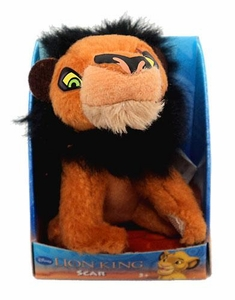 Disney Lion King Just Play 2 Inch Mini Plush Figure Scar