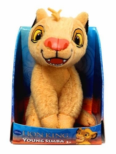 Disney Lion King Just Play 2 Inch Mini Plush Figure Young Simba