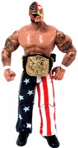 WWE Wrestling Loose Action Figure Stars & Stripes Rey Mysterio
