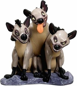 Disney The Lion King Exclusive 3 Inch PVC LOOSE Figurine Shenzi, Banzai & Ed
