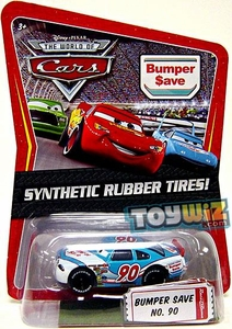 Disney / Pixar CARS Movie Exclusive 1:55 Die Cast Car with Synthetic Rubber Tires Bumper Save