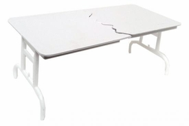 WWE Wrestling Loose Action Figure Accessory Break Apart Table [White]