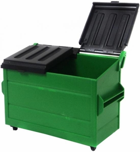 WWE Wrestling Loose Action Figure Accessory Green Dumpster
