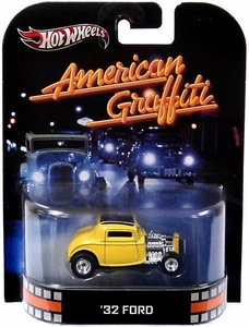 Hot Wheels Retro American Graffiti 1:55 Die Cast Car '32 Ford