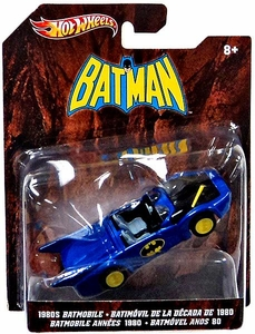 Hot Wheels Batman 1:50 Die Cast Car 1980's Batmobile