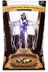 Mattel WWE Wrestling Defining Moments Series 1 Action Figure Macho Man Randy Savage [Wrestlemania VII]