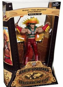 Mattel WWE Wrestling Defining Moments Series 3 Action Figure Ricky The Dragon Steamboat [March 30, 1991 Return]