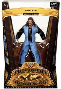 Mattel WWE Wrestling Defining Moments Series 3 Action Figure Triple H [2002 MSG Return]