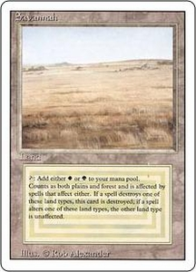 Magic the Gathering Revised Edition Single Card Rare Savannah