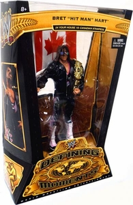 Mattel WWE Wrestling Defining Moments Series 5 Action Figure Bret The Hitman Hart [Survivor Series '97]