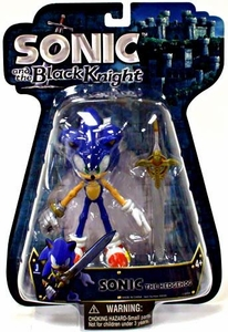 Sonic & The Black Knight 5 Inch Action Figure Sonic the Hedgehog with Sword [Over 8 Points of Articulation!]