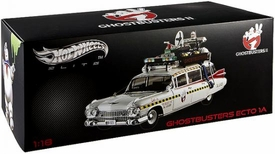 Hot Wheels Elite 1:18 Die Cast Vehicle Ghostbusters 2 Ecto 1A