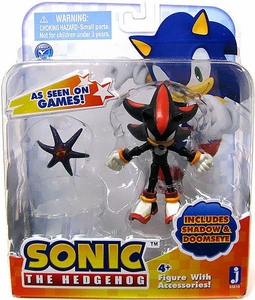 Sonic 3.5 Inch Action Figure Shadow & Doomseye