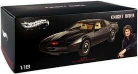 Hot Wheels Elite 1:18 Die Cast Vehicle Knight Rider KITT