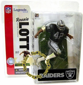 McFarlane Toys Sports Picks NFL Legends Series 2 Action Figure Ronnie Lott (Oakland Raiders) Raiders Variant