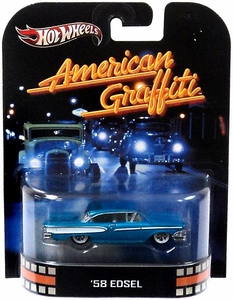 Hot Wheels Retro American Graffiti 1:55 Die Cast Car '58 Edsel