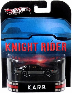 Hot Wheels Retro Knight Rider 1:55 Die Cast Car K.A.R.R.