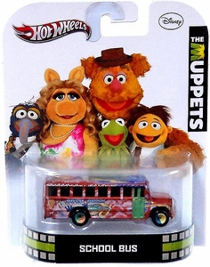 Hot Wheels Retro Muppets 1:55 Die Cast Car School Bus