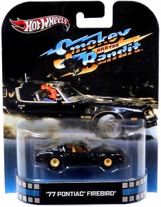 Hot Wheels Retro Smokey & The Bandit Die Cast Car '77 Pontiac Firebird