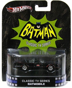 Hot Wheels Retro Batman Classic TV Series 1:55 Die Cast Car Batmobile