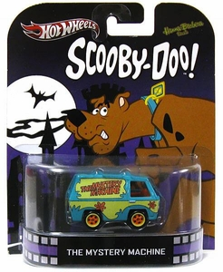 Hot Wheels Retro Scooby Doo 1:55 Die Cast Car Mystery Machine
