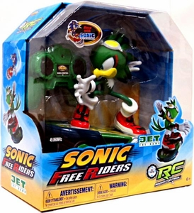 Sonic Free Riders RC Radio Control Deluxe Figure Sonic the Hedgehog