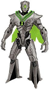 Ben 10 LOOSE 4 Inch Action Figure Nanomech [Version 1]