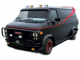 Hot Wheels Elite 1:18 Die Cast Vehicle A-Team Classic Van