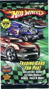 Hot Wheels Trading Card Fun Paks Booster Pack [5 Cards]
