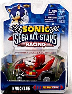 Sonic Sega All-Stars Racing Pull Back Action Vehicle Knuckles the Echidna