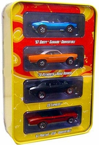 Hot Wheels Mattel Die-Cast Since '68 Muscle Cars 4-Car Pack Tin Set [#1 of 2]