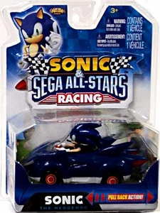 Sonic Sega All-Stars Racing Pull Back Action Vehicle Sonic the Hedgehog