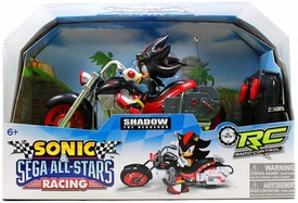 Sonic Sega All-Stars Racing RC Radio Control Vehicle Shadow the Hedgehog