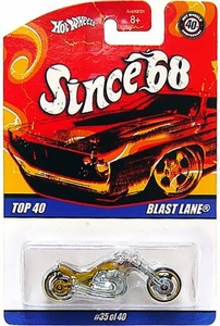 Hot Wheels Mattel Die-Cast Car Since '68 Top 40 Blast Lane [#35 of 40]