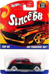 Hot Wheels Mattel Die-Cast Car Since '68 Top 40 Fat Fendered '40 [#24 of 40]