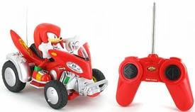 Sonic Sega All-Stars Racing Vehicle R/C Knuckles the Echidna with 3.5 Inch Figure
