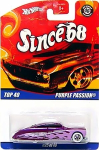 Hot Wheels Mattel Die-Cast Car Since '68 Top 40 Purple Passion [#25 of 40] BLOWOUT SALE!