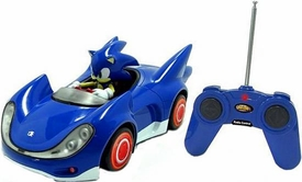 Sonic Sega All-Stars Racing Vehicle R/C Sonic the Hedgehog with 3.5 Inch Figure
