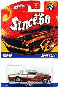 Hot Wheels Mattel Die-Cast Car Since '68 Top 40 Shoe Box [#32 of 40]