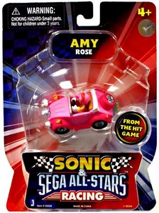Sonic Sega All-Stars Racing Vehicle with 1.5 Inch Figure Amy