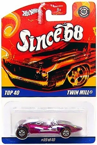 Hot Wheels Mattel Die-Cast Car Since '68 Top 40 Twin Mill [#39 of 40]