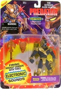 Predator Kenner Vintage 1994 Action Figure Lasershot Predator [with Assault Cannon & Sound!]
