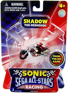 Sonic Sega All-Stars Racing Vehicle with 1.5 Inch Figure Shadow