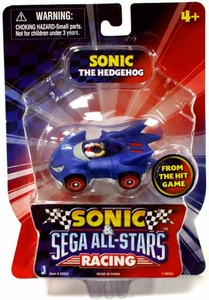Sonic Sega All-Stars Racing Vehicle with 1.5 Inch Figure Sonic