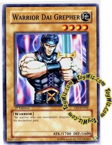YuGiOh GX Starter Deck 2006 Single Card Common YSD-EN002 Warrior Dai Grepher