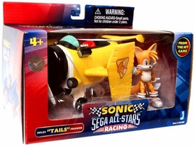 Sonic Sega All-Stars Racing Vehicle with 3.5 Inch Figure Miles