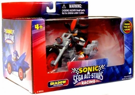 Sonic Sega All-Stars Racing Vehicle with 3.5 Inch Figure Shadow with Dark Rider Motorcycle